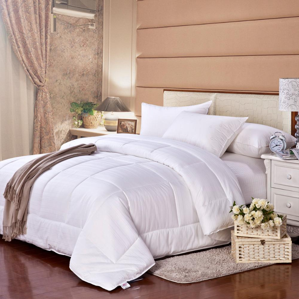2018 wholesale cosette 100 goose down white quilt insert comforter