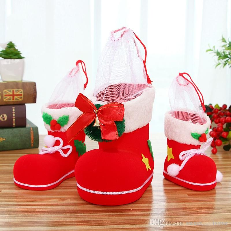 2017 Christmas Decorations Furnishing Articles Children Gift HeDai Boots  Christmas Gifts Sale Christmas Decor Sale Christmas Decorations From  Sweet___home, ... - 2017 Christmas Decorations Furnishing Articles Children Gift HeDai