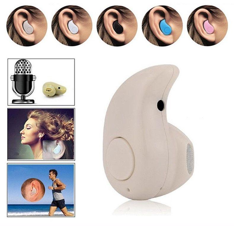 Mini Bluetooth 4.0 fone de ouvido estéreo de luz sem fio fones de ouvido invisíveis S530 Super fone de ouvido música chamada de atendimento venda quente DHL frete grátis