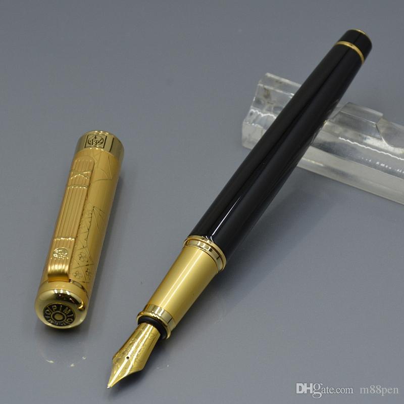 5A Qualité 5 couleurs Picasso Fontaine Pen de bureau administratif de la papeterie 0.7mm Promotion Calligraphie Cadeau Stylos à encre