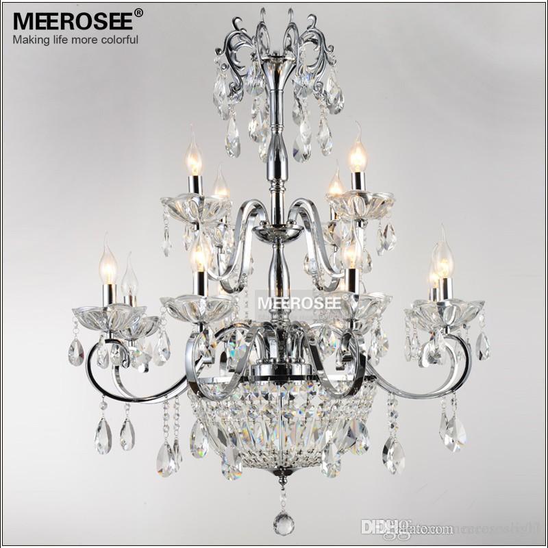 vintage 12 arms clear crystal chandelier 10 Frais Lustre Suspendu Hiw6