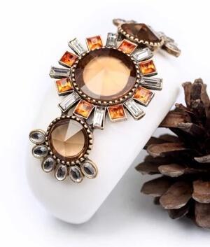 Commercio all'ingrosso dei monili delle donne di vendita del regalo di stile europeo del braccialetto delle donne bianche di cristallo del braccialetto delle donne Trasporto libero del DHL