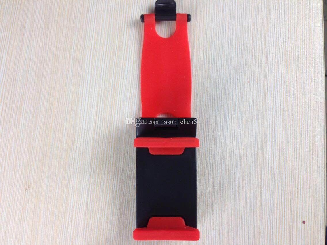 Universal Car Steering Wheel Cradle Holder SMART Clip Car Bike Mount for Mobile iphone samsung Cell Phone GPS Phone Holder