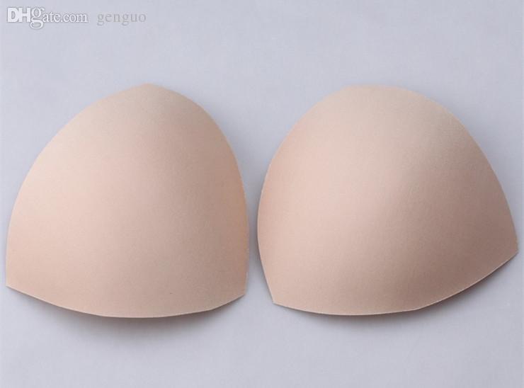 d7f7bf37a69 2019 Wholesale =Woman Genie Bra Ahh Bra Accessories Replacement Swimsuit  Padding Inserts Foam Bra Pads Triangle Swimwear Bra Cups From Genguo, ...