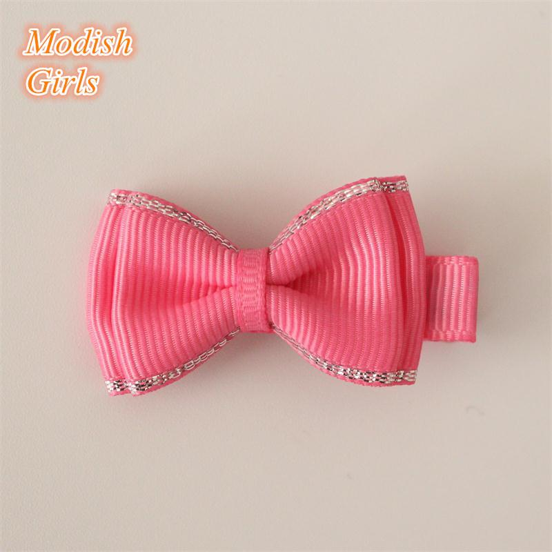 New Arrival Bow Alligator Ribbon Bowknot Sweet Baby Girls Hairpin Mini Size Hair Clips For Kids Cute Children Headwear