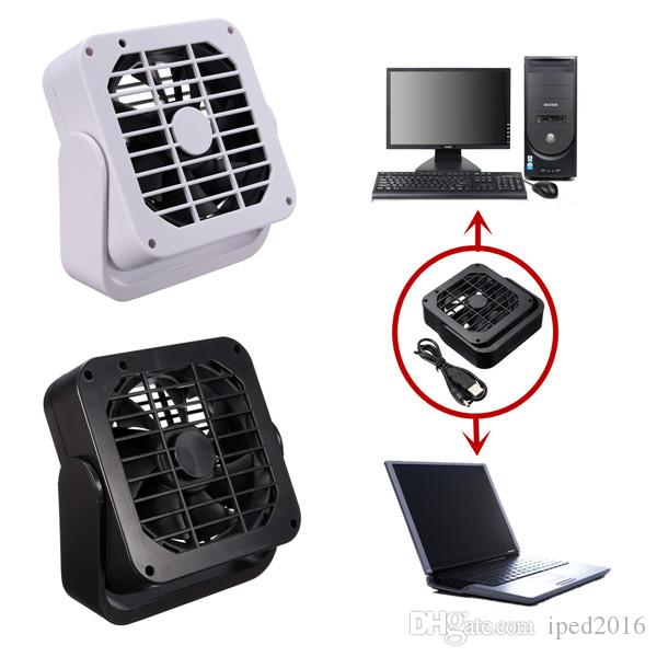 Air Conditioning Appliance Parts Hearty Notebook Laptop Computer Portable Super Mute Pc Usb Cooler Desk Mini Fan Black H