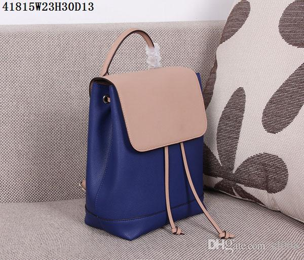 Latest leather backpack recommended to ladies 23*30*13cm casual backpack pocket with zipper for mobile Ipad etc AAA leather abosutly cheap