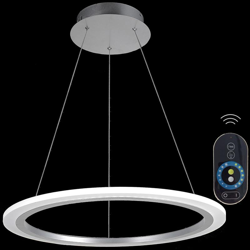 Modern Circle Led Bedroom Pendant Lights Suspension Luminaire