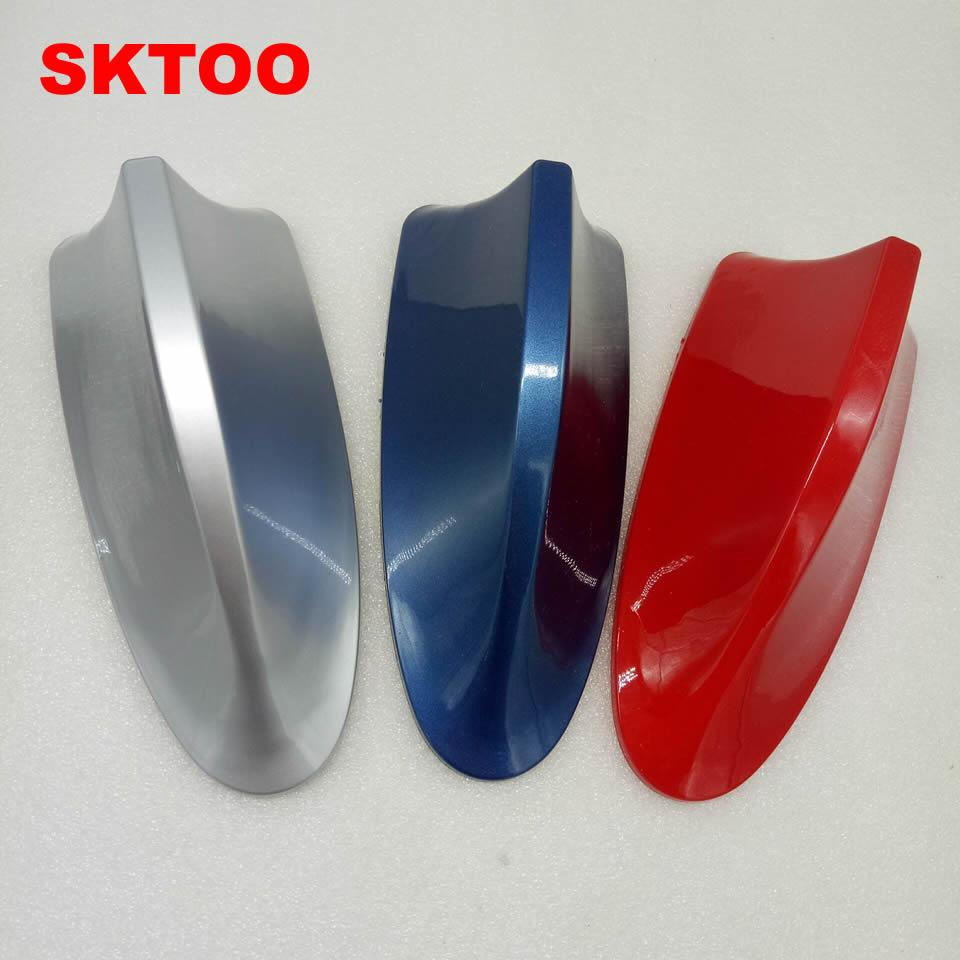 FOR Citroen C2 C3 C4 C6 DS3 DS4 DS5 Radio shark fin Car antenna With 3M  adhesive blank radio signal auto Car Styling Accessorie