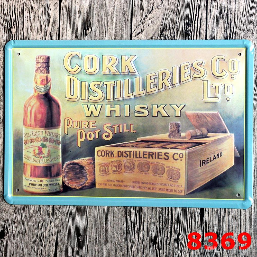 2017 wines vintage metal painting tin signs bar pub home cafe