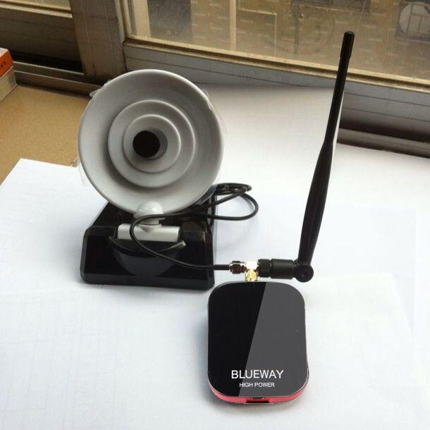 Şifre Çatlama Beini Ücretsiz İnternet Uzun Menzilli 3000 mW Çift Wifi Anten USB Wifi Adaptörü Dekoder Ralink 3070 Blueway BT-N9800