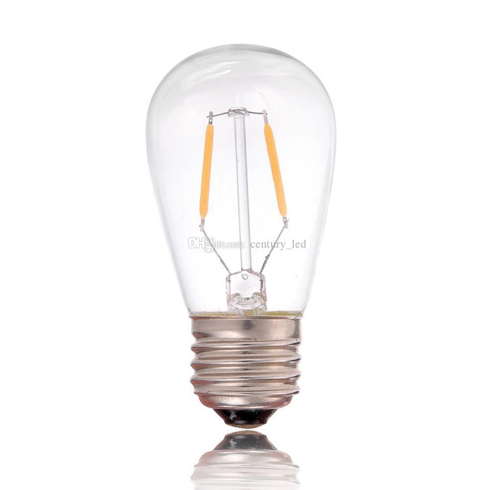 Acheter Lampe À Filament Vintage LED ST45 Edison Style 1W 2200K 110V / 220V  Rétro Lustre Décoratif Pendant De $272.79 Du Century_led   DHgate.Com