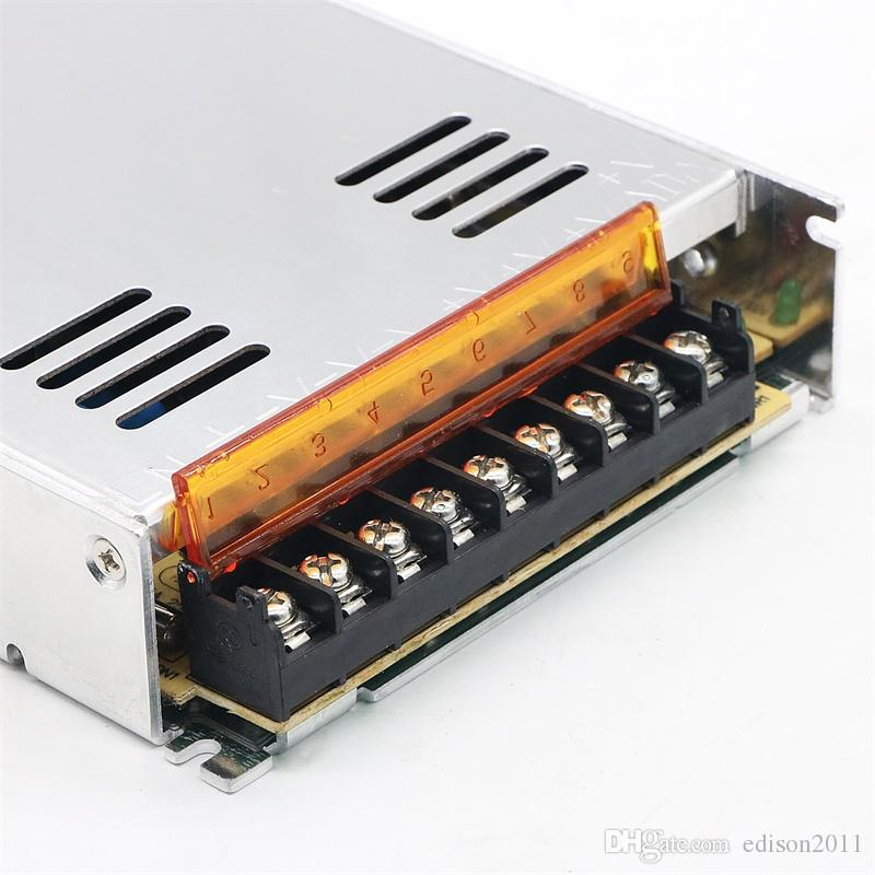 Edison2011 5V 10/30/40/60/70 / 80A Fuente de alimentación Led Driver Interruptor interior Fuente de alimentación 110V 220V para 5V Módulo de tira Lámpara
