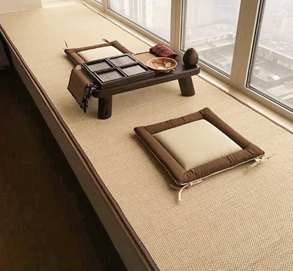 Tatami Matte style tatami bamboo mat environmental cool ground mat for