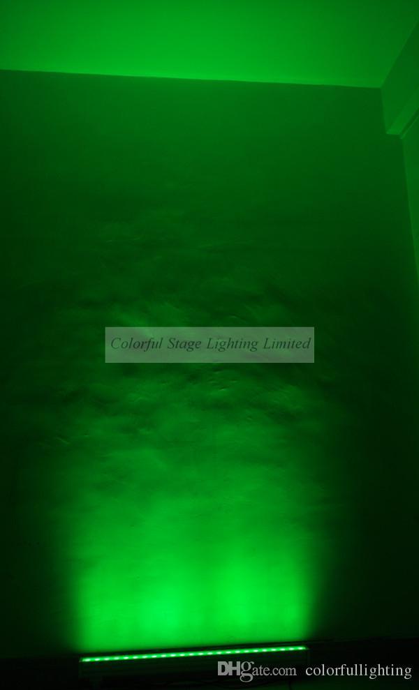 Spedizione gratuita 24x3W RGB 3in1 Tri 1M lungo LED Wall Washer Light Tri Wallwasher