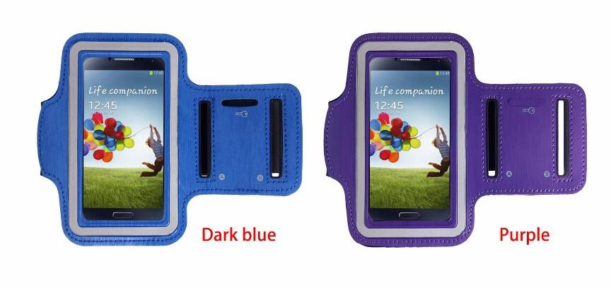 Durable Running Jogging Sports GYM Arm Strap Case Cover Holder for Samsung Galaxy S5 S4 S6 S7 EDGE Mobile Phone Bag Case Wholesale