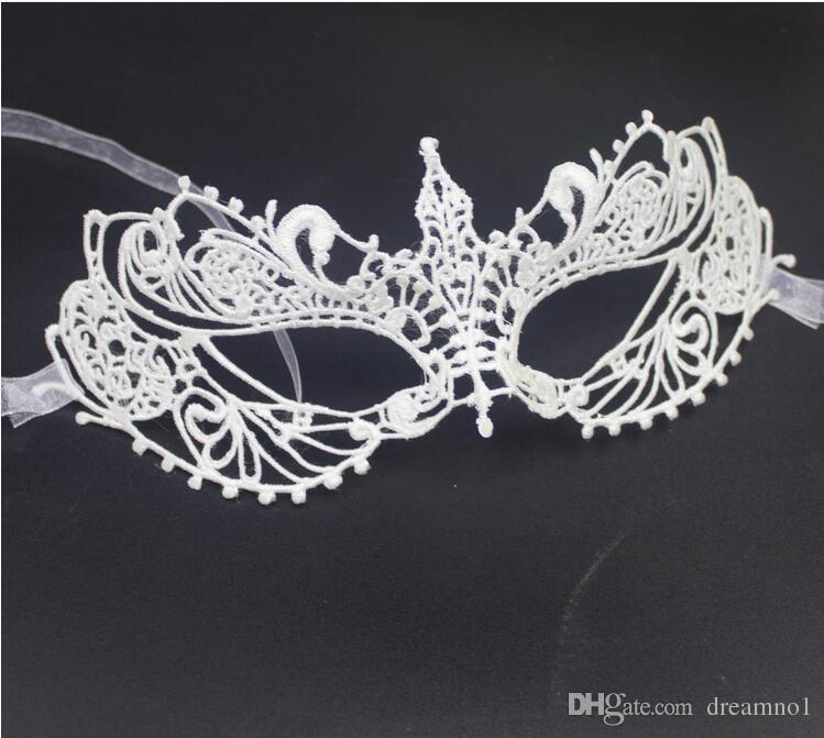 Hot sale Beautiful lady Black Lace Floral Eye Mask Venetian Masquerade Fancy Party Prom Dress Accessories Drop Shipping