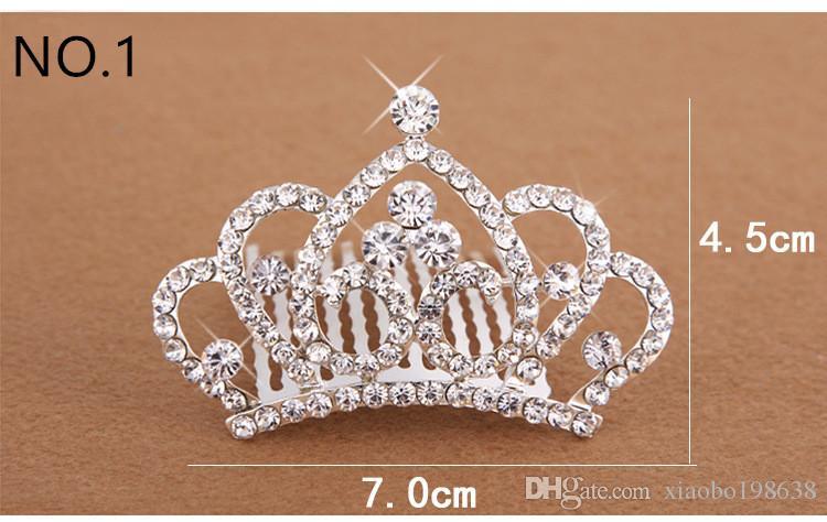 Crystal Tiara Hair Band Kid Girl Bridal Princess Prom Crown Kid Girl Party  Accessories Bridal Princess Prom Crown Headband Wedding Flower Hair  Accessories ... cadb1d855846