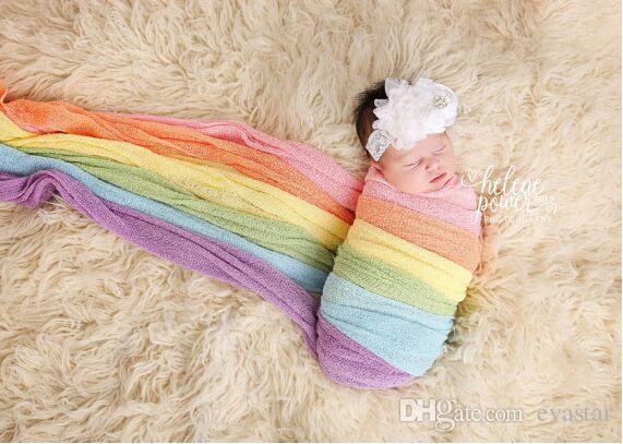 Stretch Knit Wraps in Natural Tones Newborn Wrap Photo Prop Baby Photography Prop