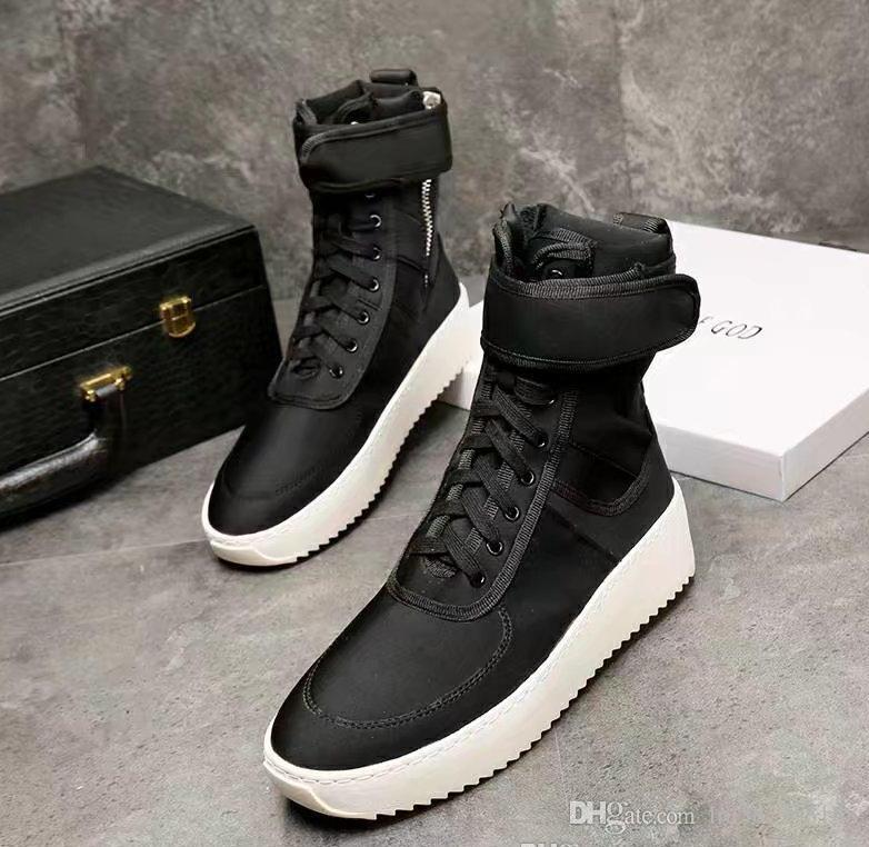 Fear Winter God Genuine Of Men Army New Boots Military Sneaker 2017 erWBdCox