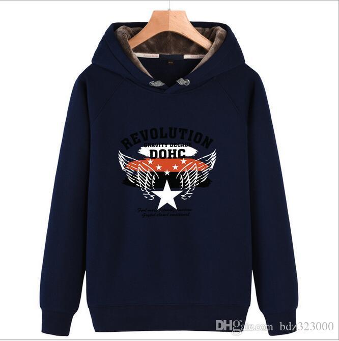 EU Size Men Hoodies American Comics Style Print Flecce Cotton Women Sweatshirt Moleton 2017 Pullover Regular Tracksuit men/women coats
