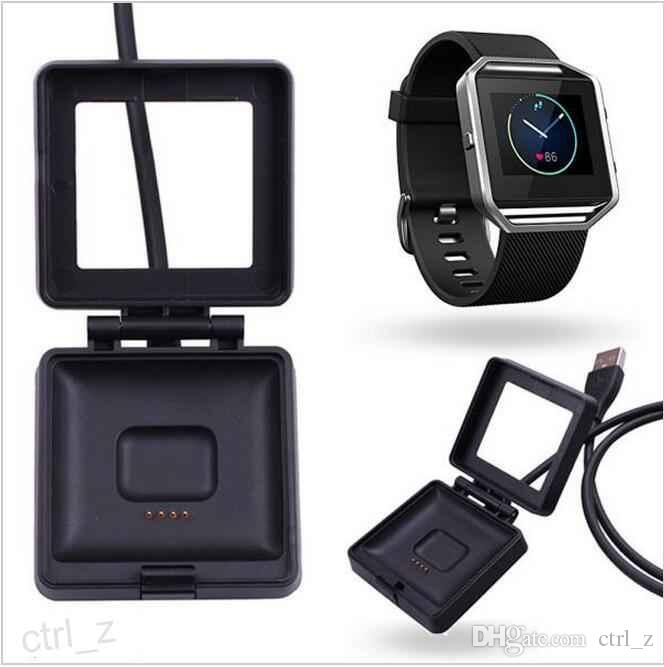 2016 black Charging Cable Charger Power Adapter Dock Cradle Cord Wire For Fitbit Blaze Smart Watch