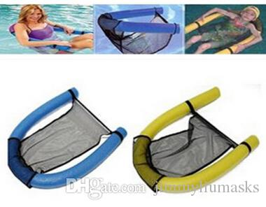 New Water Floating Chair Swimming Pool Noodle Seat Funny Tube Recreation Toy