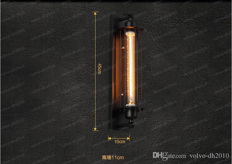 Edison Rétro Style Loft Industriel Vintage Applique Murale Pour La Maison En Métal Antique Lampe Applique Murale Éclairage Intérieur Lampara Pared LLFA
