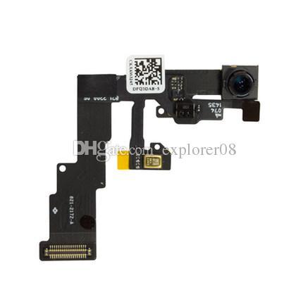 جديد كاميرا أمامية الوجه مع مستشعر الضوء القرب فليكس كابل للآيفون 6 4.7 iPhone6 زائد 5.5 استبدال الجزء