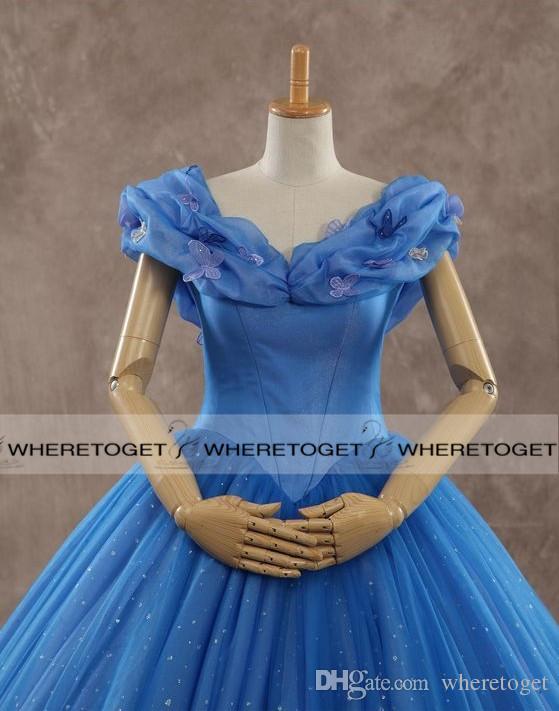 Vestidos de boda de la manera 2019 de bola del vestido del hombro de lujo de la manga vestidos de novia de tul corto Hilary Duff corsé de los vestidos nupciales de encargo de Mad
