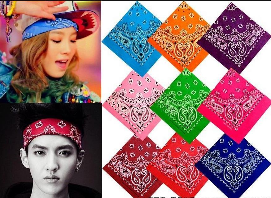 Men S Women S HipHop Headband Bandana Cotton Bandana Handkerchief Ameba  Headwrap Bikers Scarf Headband Ribbon Bow Hair Band EXO Hair Cosplay UK  2019 From ... ed355d8c2ac