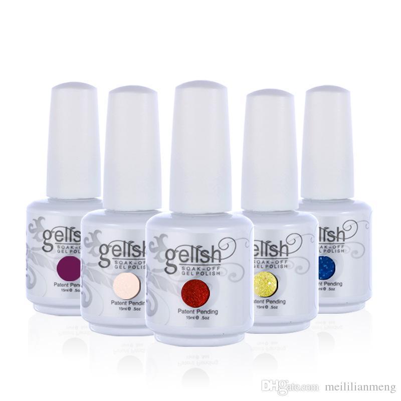 No.1 Uv Color Gel Nail Polish Unhas De Gel Lucky Set Of Nail Soak ...