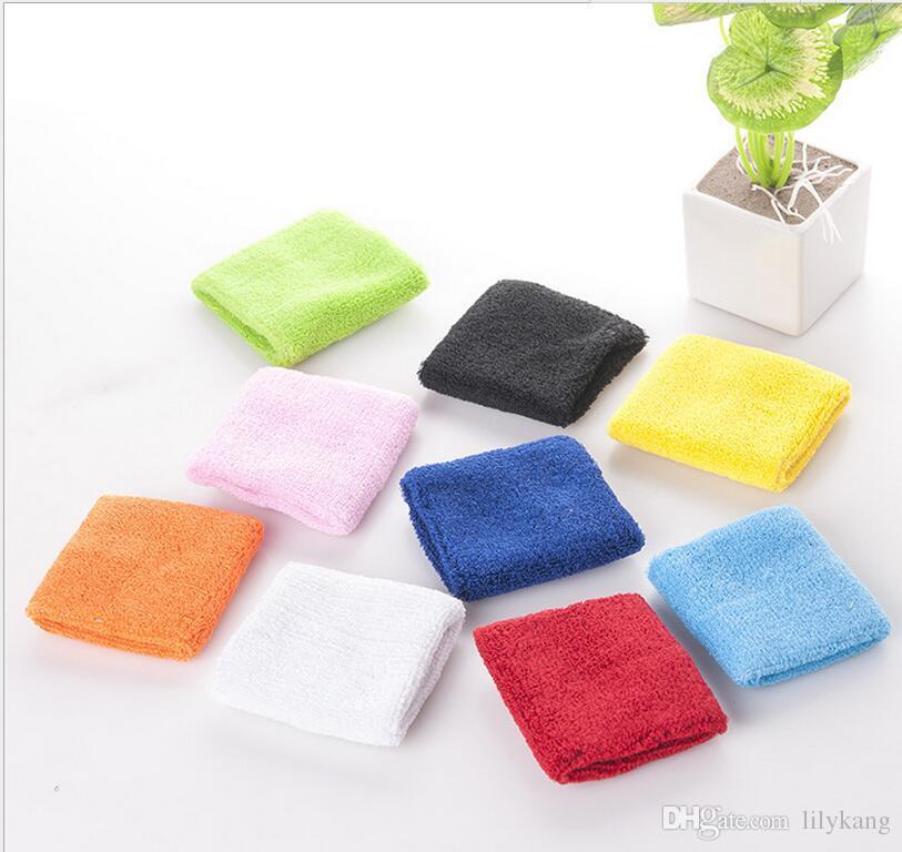 Cotton Elastic apoio para o punho de segurança de protecção Ginásio Braçadeiras sweatbands segurança Sporting pulseiras exercício faixa de pulso