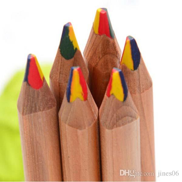 High Quality 4 in Pencils Colored Pencil Drawing Color Pencil Pens School Office Supplies Kids student stationery