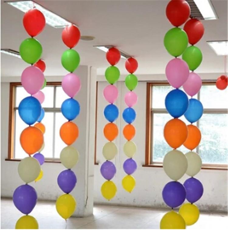 12inch Latex Tail Balloons Party Decoration Kids Classic Toys For Party  Baloons Wedding Balloons Decoration 200pcs/lot