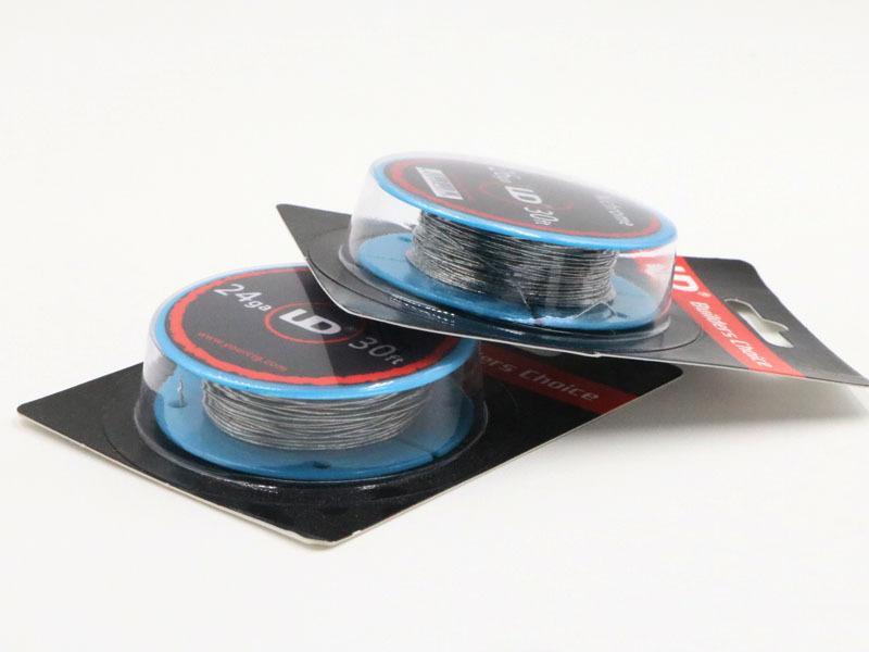 Оригинальный Youde UD с диаметром 24ga 26ga 28ga нихромовой спиралью провода 30 футов рулон 30 футов AWG RDA жидкостью Vape 24 г 26 г 28 г датчик БДХ