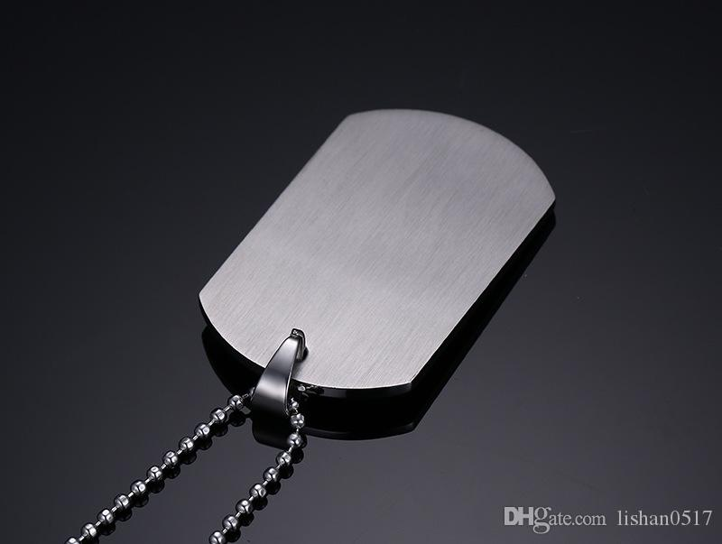 Top titanium steel Lesbian symbol tags Titanium steel army card Dog tag Stainless steel tags Can be customized