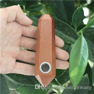 HJT Wholesale new novelty smoking pipes natural crystal quartz Tobacco Pipes Healthy smoking chinese pipes smoking