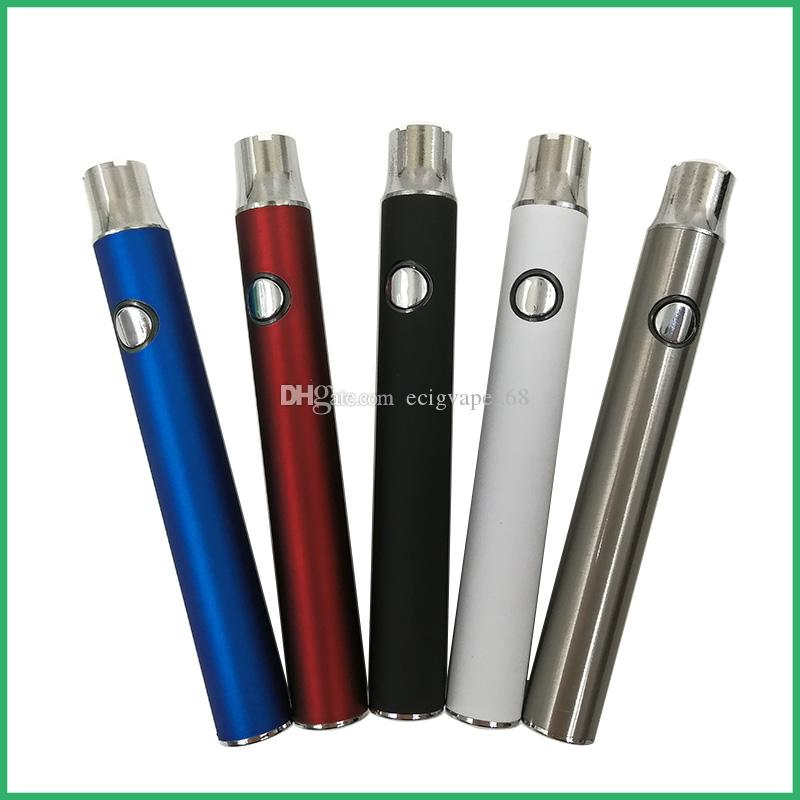 LOGO personalizzato Batteria a tensione variabile all'ingrosso vaporizzatore USA batteria di olio CO2 pre-vendita o calore vape pre-vendita con scatola bianca DHL libera