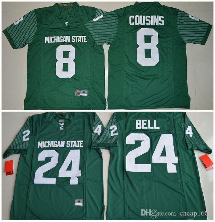kirk cousins michigan state jersey