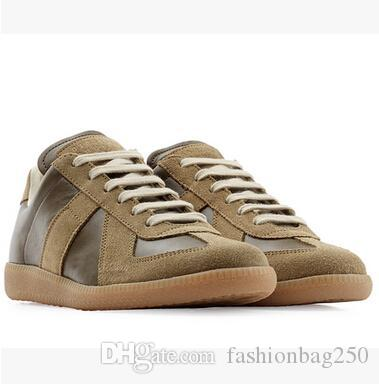 Hot!! Brand MMM Shoes Women And Men Casual Shoes New Leather ... c3c1c0d74da0