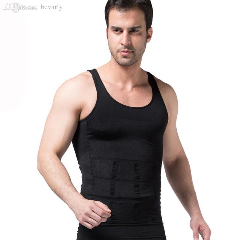 cb67281b19 Wholesale-Men Body Shaper Underwear Tummy Shaper Vest S~2XL Vest Dress  Shapers Shoes Vest Buckle Online with  1361.63 Piece on Bevarly s Store