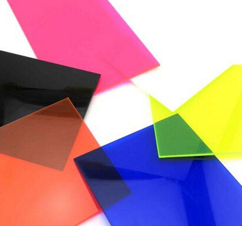2.8*200*300mm Color Transparent Acrylic Sheet Plexiglass Plastic ...