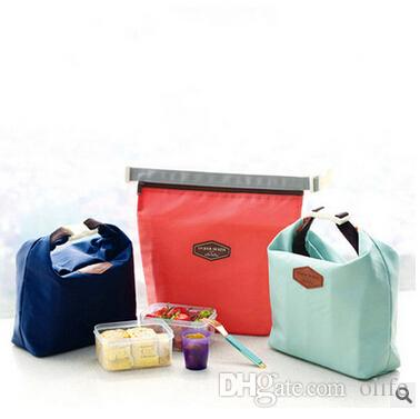Travel Outdoor Lunch Bag Box Cool Thermal Handbag Food Drinks Ice Packs Isothermic Container Warmer Cooler Carry Picnic Tote Bags