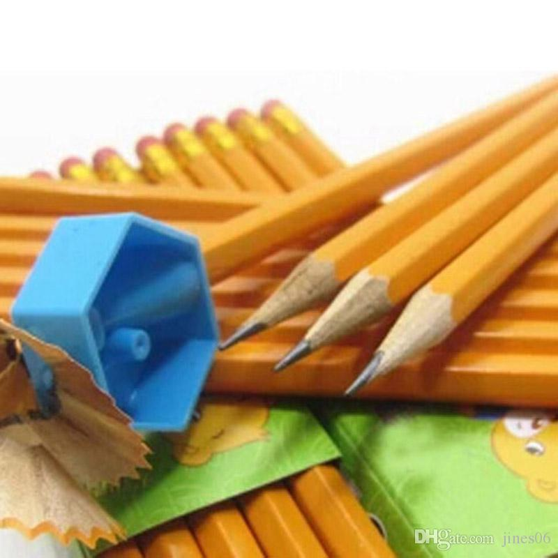 Hot Selling Standard HB Pencils With Eraser Wooden Pencil For Children School Stationery Drawing Painting Pen Papelaria