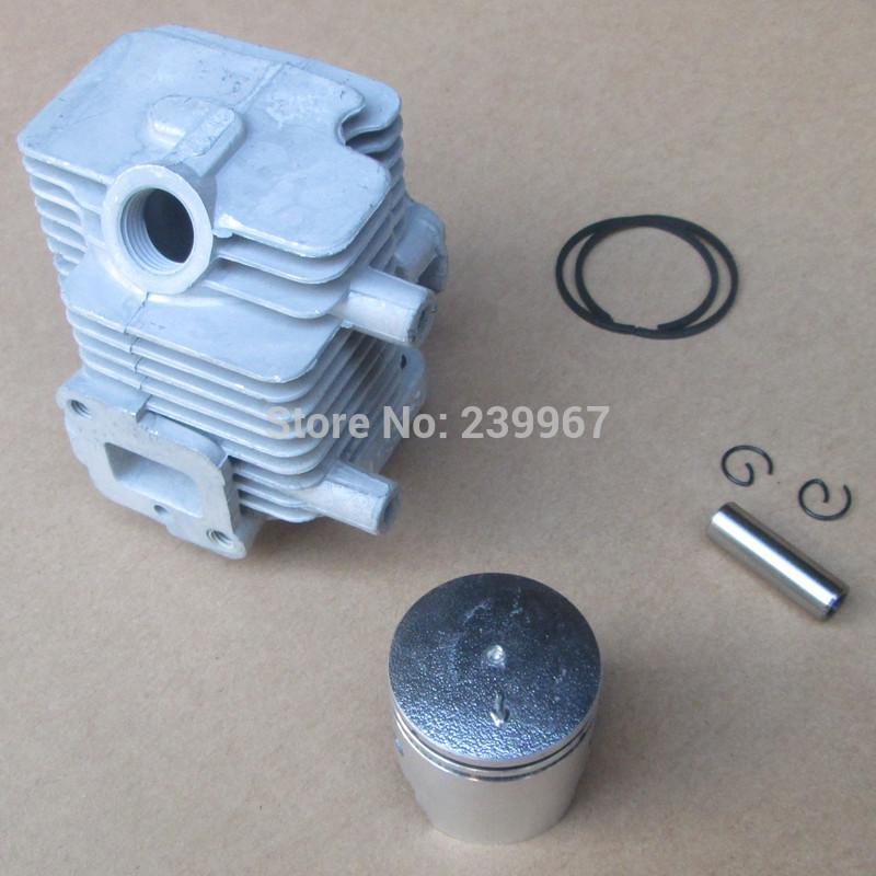 Cylinder assembly 32mm for Chinese 1E32F 32F hedge trimmer strimmer Cylinder + piston kit replacement part