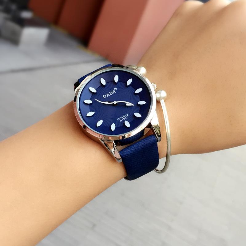 Brand Hot Watch Casual Watches Men Wristwatch Fabric Strap Quartz ...