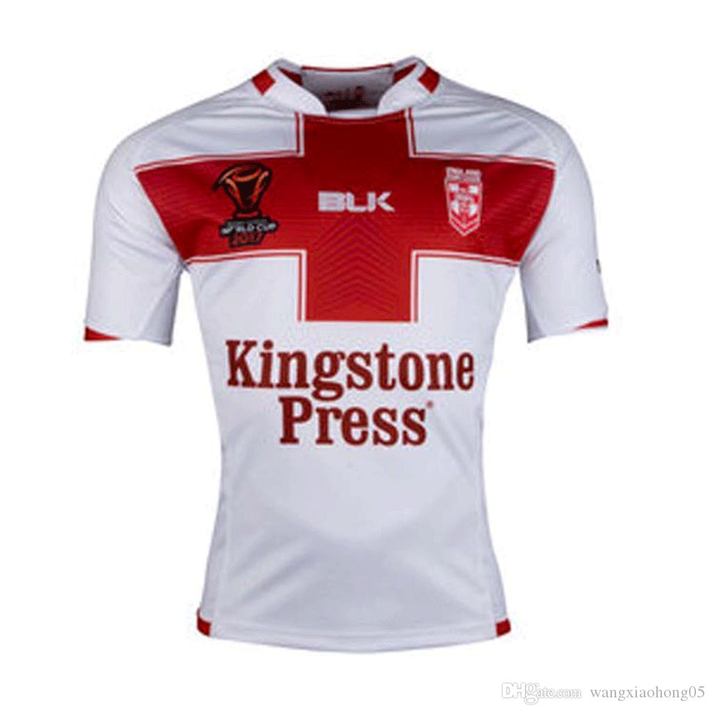 38d545a69 RUGBY LEAGUE WORLD CUP 2017 HOME JERSEY Size S-3XL 2017 New Arrival ...