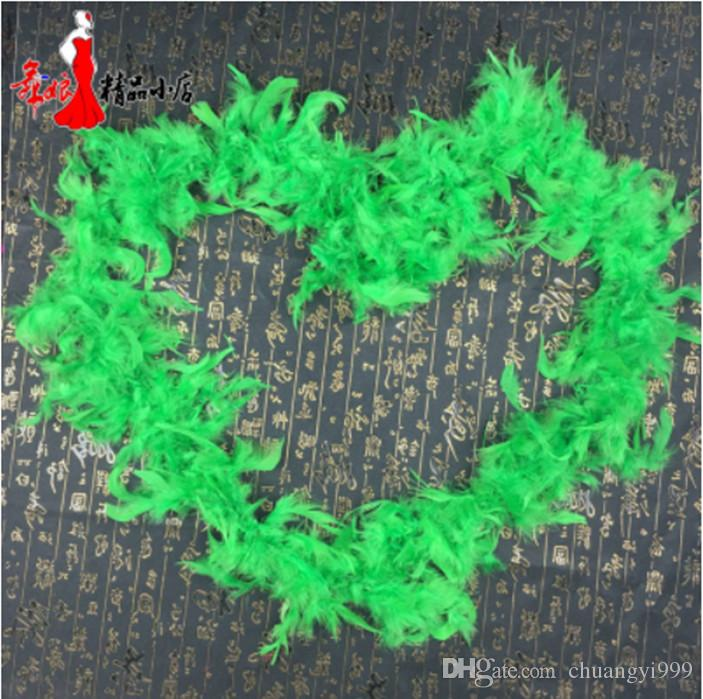 U pick colors 2Yards length Party feather boas article turkey feather Christmas masquerade accessories
