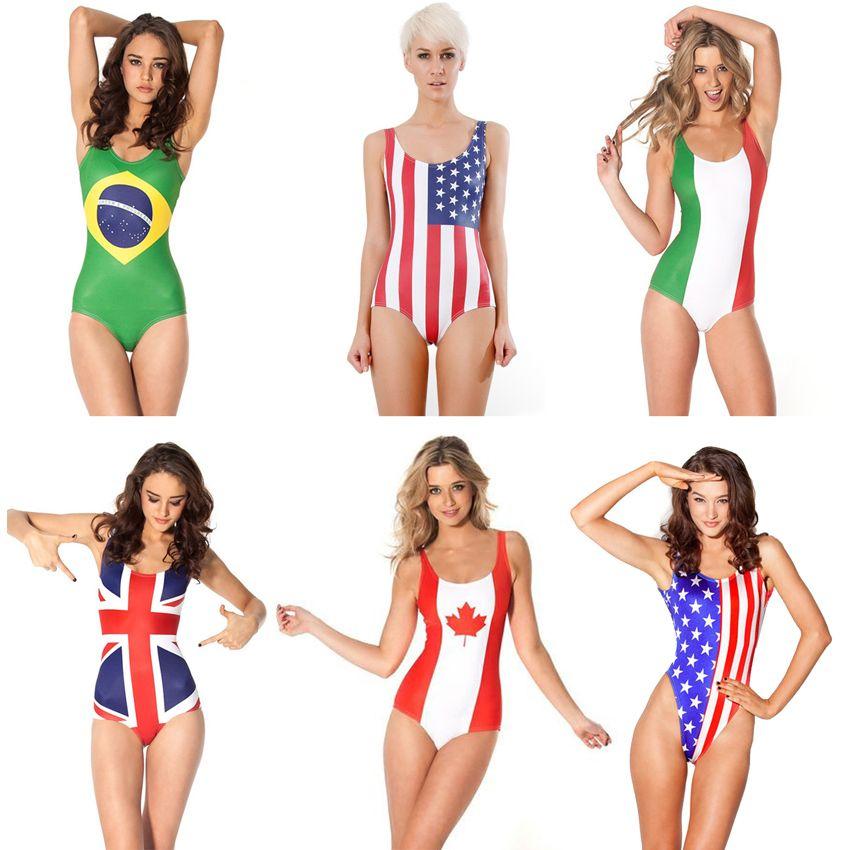 Think, Bikini canada flag